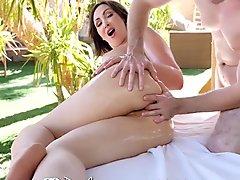 PureMature Outdoor anal massage fuck with busty MILF Yasmin Scott