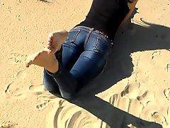 Foot Play in the Sand