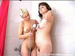 Steamy mature lesbian action