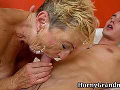 Cum drenched