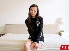 FIT18 - Ariel mercy - 50kg - audition thin Half Korean Beauty - 60FPS