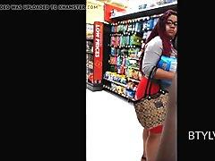 Juicy Bubble Booty in Miniskirt