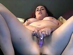 Hot sexy big tit milf hard masturbate on cam