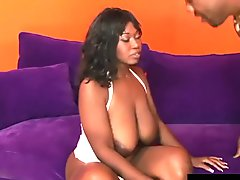 Black Momma with Natural Monster Tits Delotta Brown Gets Pounded Hard