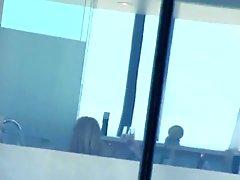 Hotel 3 - Blonde Mature Window Bath