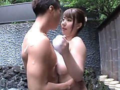 Hottest Japanese model in Fabulous MILF, Big Tits JAV clip