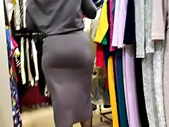 Delicious hips sexy milfs in tight dress